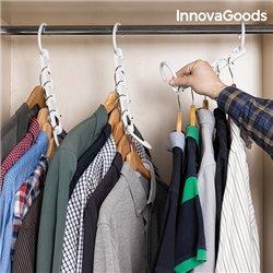 Organisateur de Cintre pour 40 Vêtements InnovaGoods (24 Pièces)
