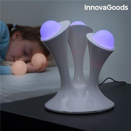 Lâmpada LED Fluorescente Multicolor InnovaGoods