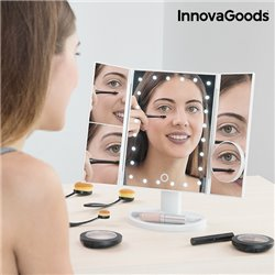 InnovaGoods 4-in -1 Magnifying LED Mirror