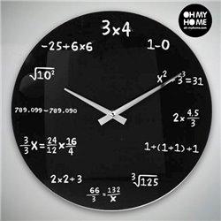 Orologio da Parete Matematica