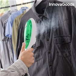 Ferro da Stiro a Vapore Verticale InnovaGoods 1000W Bianco Verde