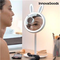 InnovaGoods Specchio-Lampada LED per Truccarsi 2 in 1 Mirrobbit
