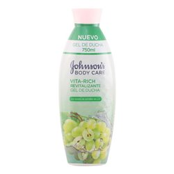 Gel de Ducha Revitalizante Uvas Vita-rich Johnson's 11067