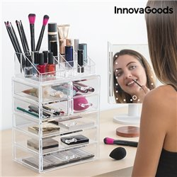 InnovaGoods Organizador de Maquilhagem Acrílico