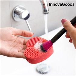 InnovaGoods Limpador de Escovas e Pincéis de Maquilhagem Heart