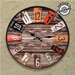 Reloj de Pared Antique Vintage Coconut