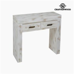 Console Mindi wood (84 x 30 x 76 cm) - Natural Collection by Craftenwood