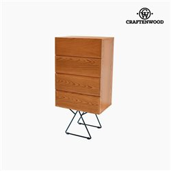 Chest of drawers Walnut (112 x 55 x 40 cm) - Be Yourself Collection by Craftenwood