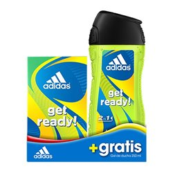 Cofanetto Profumo Uomo Get Ready! Adidas (2 pcs)