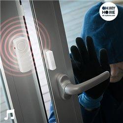 Alarma Inalámbrica con Sensor de Contacto Oh My Home (Pack de 3)