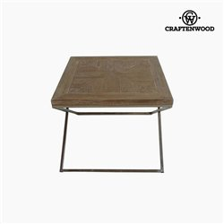 Craftenwood Table d'Appoint Bois de teck (60 x 60 x 49 cm) by