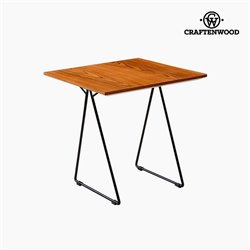 Table d'Appoint Noyer Mdf (55 x 55 x 55 cm) by Craftenwood