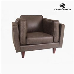 Armchair Polyskin chestnut (104 x 92 x 80 cm) by Craftenwood