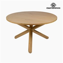 Table Bois mindi (130 x 130 x 79 cm) by Craftenwood