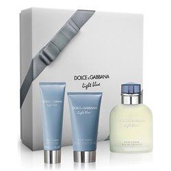 Cofanetto Profumo Uomo Light Blue Dolce & Gabbana (3 pcs)