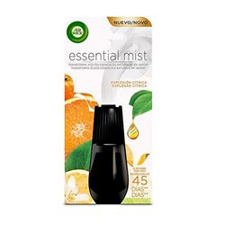 Air Wick Essential Mist (Citrus Burst) Air Freshener Refills x2