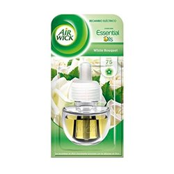 Air Wick White Bouquet Air Freshener Refills x2