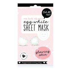 Oh K! Masque facial Egg White (20 ml)