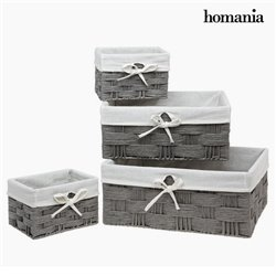 Set of Baskets Homania 3067 (4 pcs)