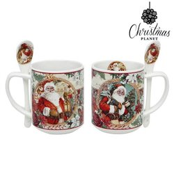 Cup with Box Christmas Planet 4193 Father christmas