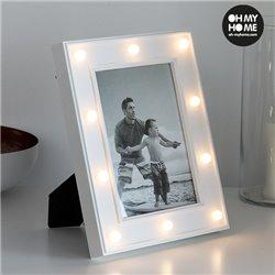Portafotos LED de Sobremesa Oh My Home