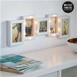 Cadre Photos LED Oh My Home (5 photos)