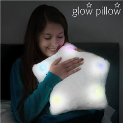Cuscino LED a forma di Stella Glow Pillow