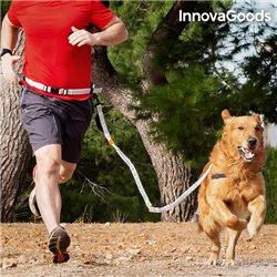Guinzaglio per Cani Mani Libere InnovaGoods