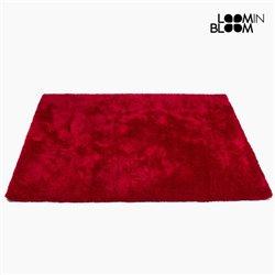 Tapete (170 x 240 x 8 cm) Poliéster Vermelho