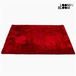 Tapete (170 x 240 x 6 cm) Poliéster Vermelho