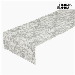 Caminho de Mesa (40 x 13 x 0,05 cm) Prata