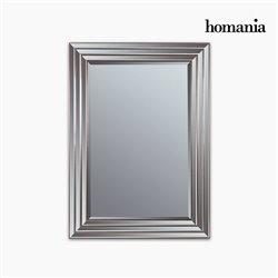Espejo Resina sintética Cristal biselado Plateado Dorado (82 x 3 x 112 cm) by Homania