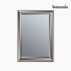 Miroir Résine synthétique Vere biseauté Argenté Doré (76 x 3 x 106 cm) by Homania