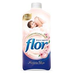 Ammorbidente per Bucato Flor Momenti Felici 1,4 L (64 Lavaggi)