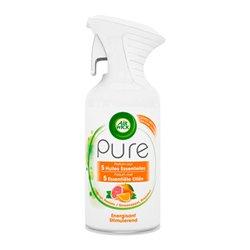 Spray per Ambienti Air Wick Pure Essential Oil Energizzante x4