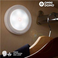 Faretto LED con Sensore Vocale Voluma