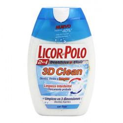 Pasta de Dientes 3d Clean Licor Del Polo (75 ml)