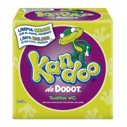 Feuchttücher zur Intimpflege Kandoo Dodot (120 pcs)