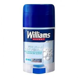 Déodorant en stick Ice Pure Oxygen Williams (75 ml)