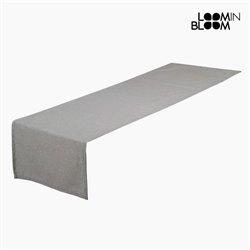 Caminho de Mesa Panama (40 x 13 x 0,5 cm) Cinzento