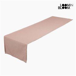 Caminho de Mesa Panama (40 x 13 x 0,5 cm) Cor de rosa