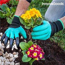 Guanti da Giardinaggio con Artigli per Scavare InnovaGoods