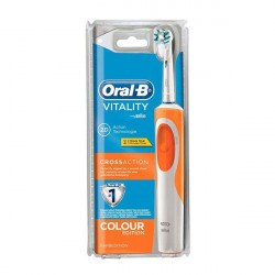 Oral-B Toothbrush Vitality Cross Action Orange