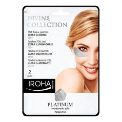 Iroha Patchs pour le contour des yeux Platinum (2 uds)