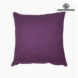 Puff Purple (90 x 90 x 25 cm) by Craftenwood