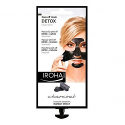 Iroha Masque purifiant Detox Charcoal Black