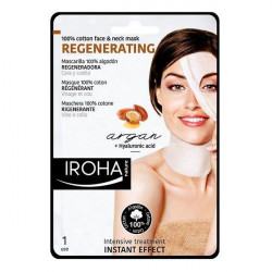 Iroha Masque revitalisant anti-âge Cotton Face & Neck