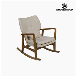 Rocking Chair Elm wood (88 x 53 x 54 cm) by Craftenwood