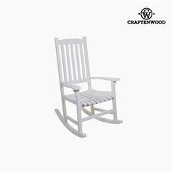 Rocking Chair Aspen wood (116 x 87 x 68 cm) by Craftenwood