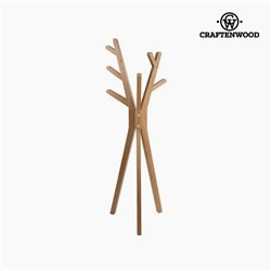 Hat stand Ash wood (171 x 67 x 40 cm) by Craftenwood